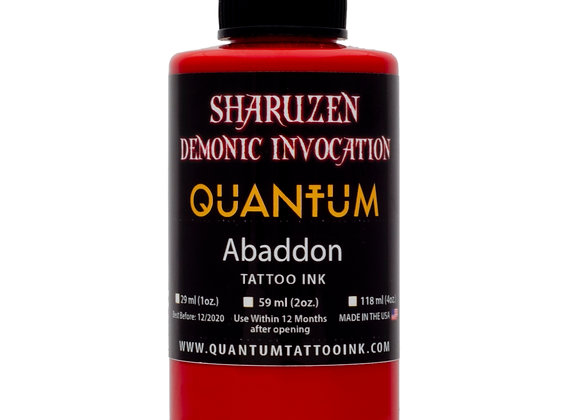 SHARUZEN DEMONIC INVOCATION - ABADDON TATTOO INK