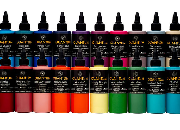 PASTEL TATTOO INK SET 20 COLORS