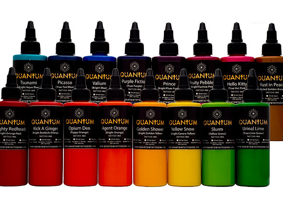BRIGHT TATTOO INK SET 16 COLORS