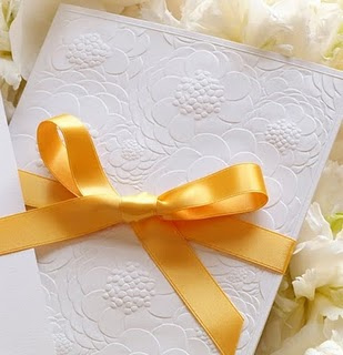 Embossed & Ribbon Invitations
