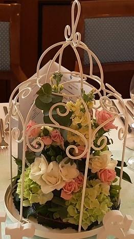 Paper Flowers Birdcage