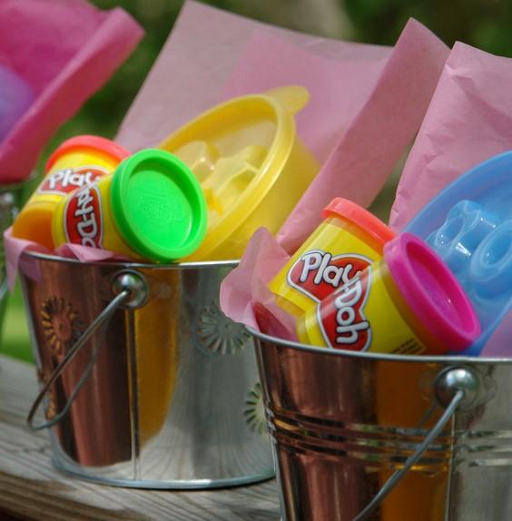 Playdoh Buckets