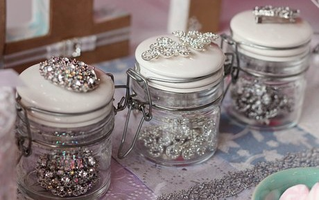 Embellished Jars