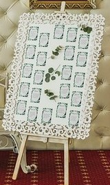 Die Cut Lace Table Plan