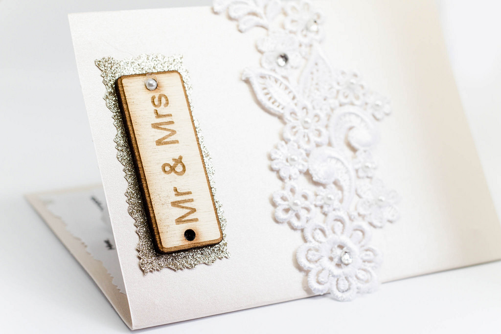 Die Cut & Wood Invitations