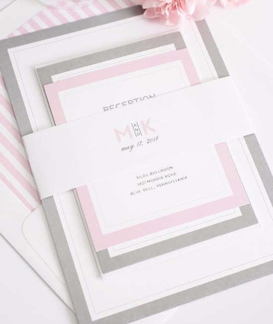 Laser Print Belly Band Invite