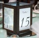 Table Lantern Number