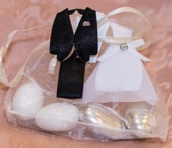 Bride & Groom Favor Bags