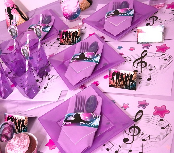 Bespoke Purple Musical Package