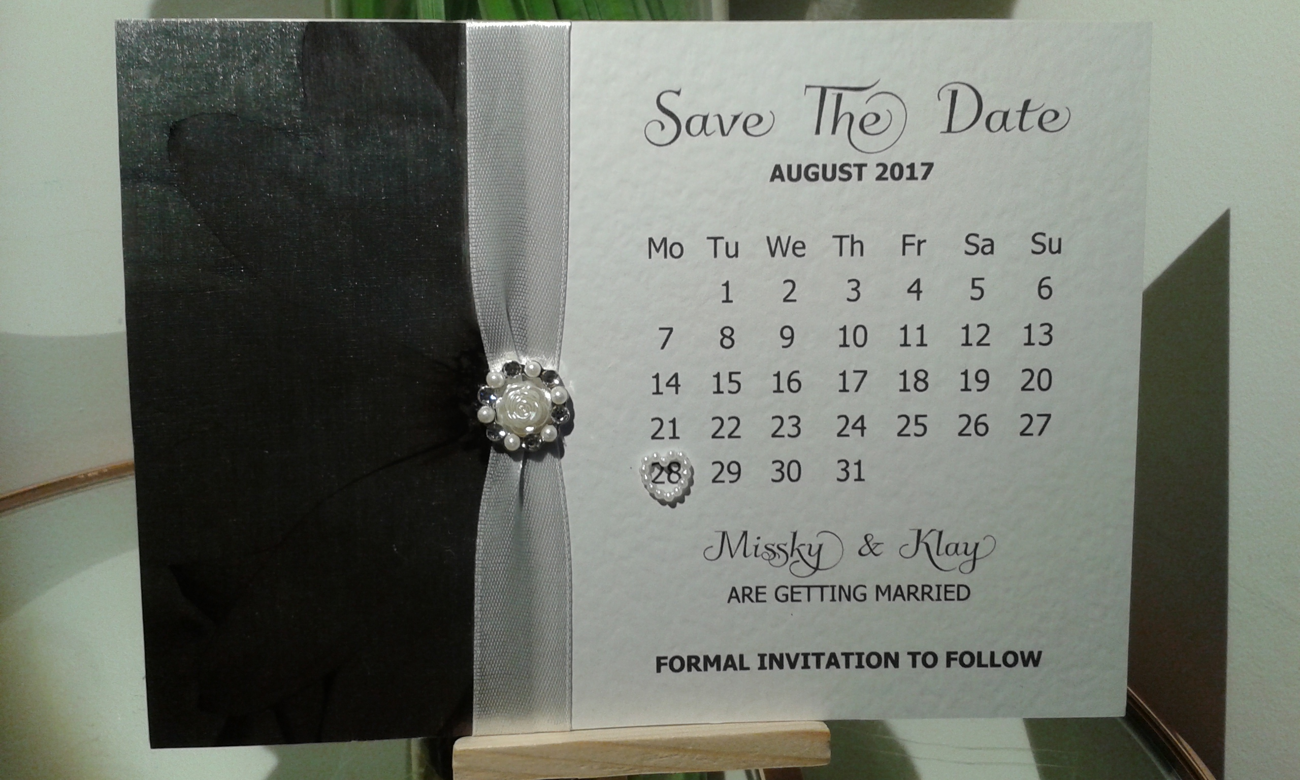 Embellished Save The Date