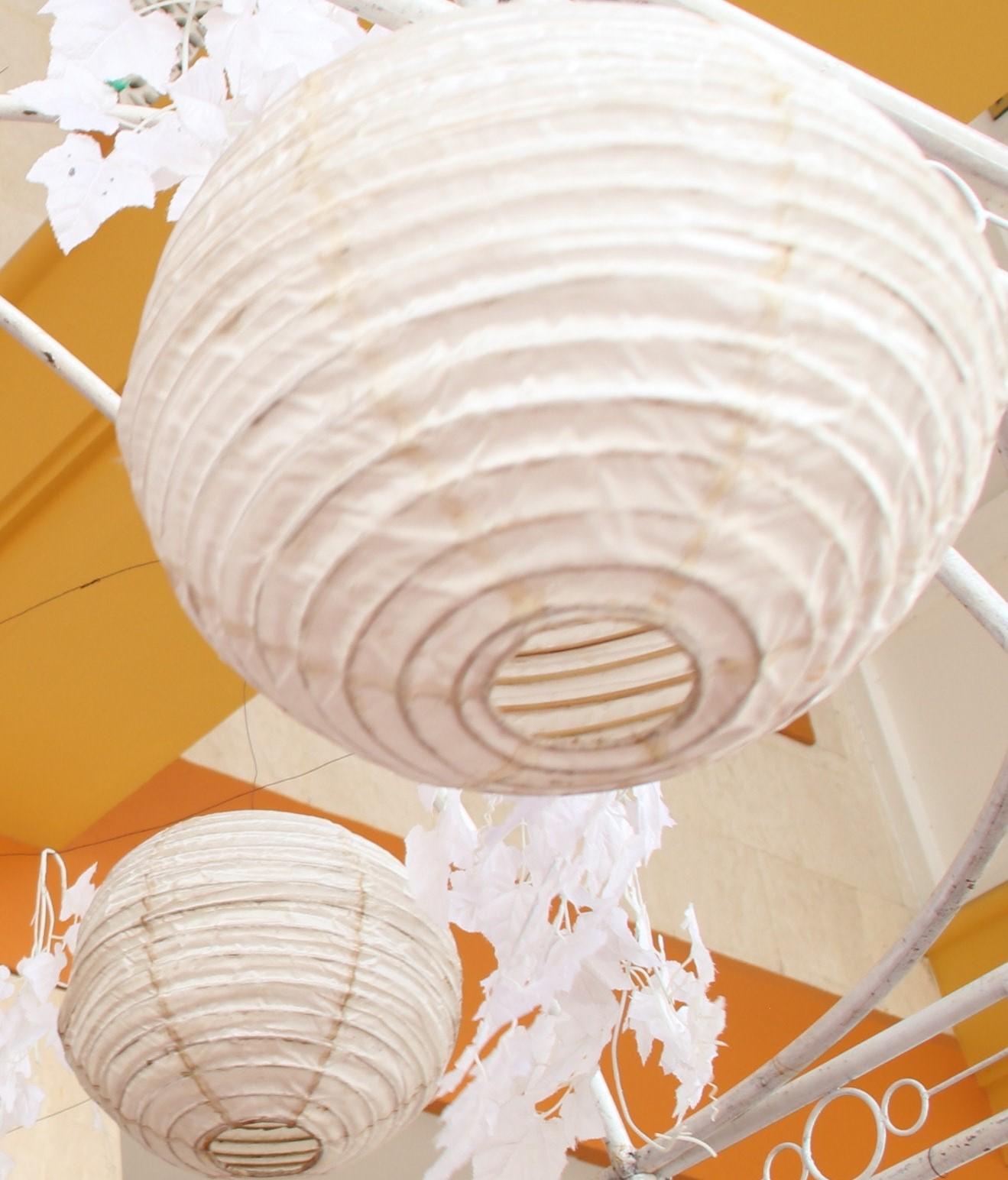 Paper Butterflies & Lanterns