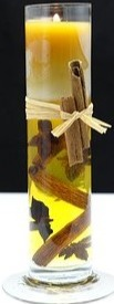 Cinnamon Beeswax Candles