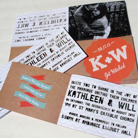 Booklet Invitations