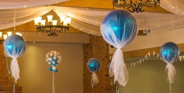 Organza LED Balloons