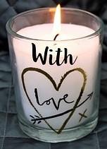 Candle Jar & Wording