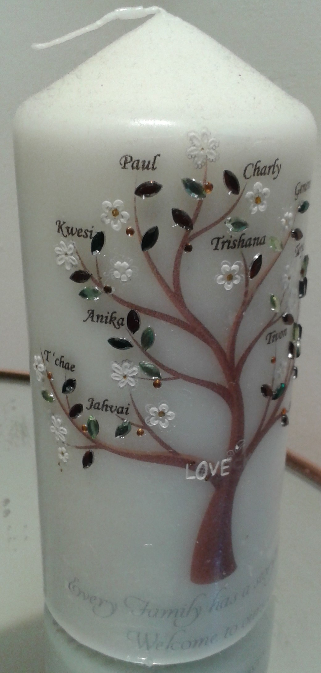 Family Tree Candle