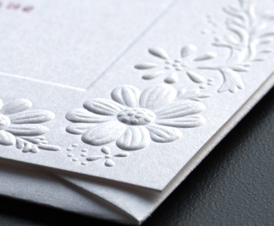 Embossed Stationery