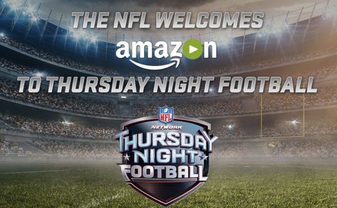 Amazon Inks $50M Deal for NFL Thursday Night Football Streaming Rights