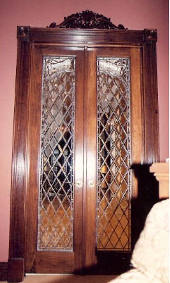 Diamond Bevels in Doors