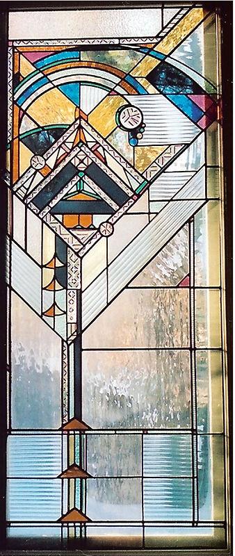 Vertical transom Window