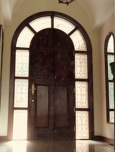 Arched Sidelights