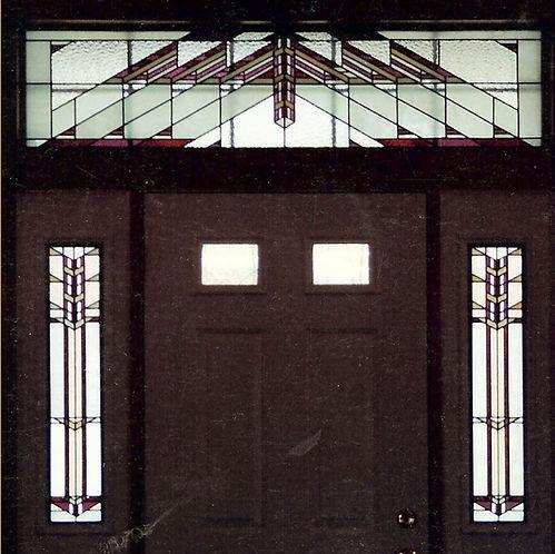 Frank LLoyd Wright Entryway