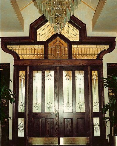 Unique Shaped Entryway