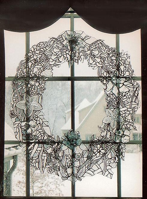 Glass Wreath