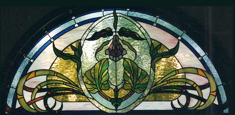 Art Nouveau Transom