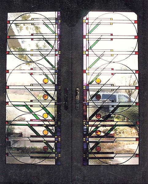 Contemporary Prairie Doors