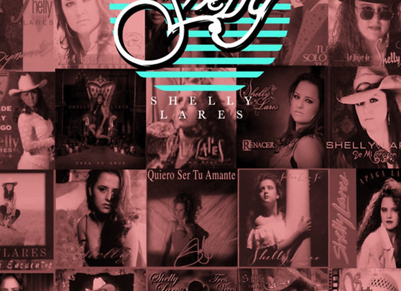 Shelly's Album Covers Collage Poster