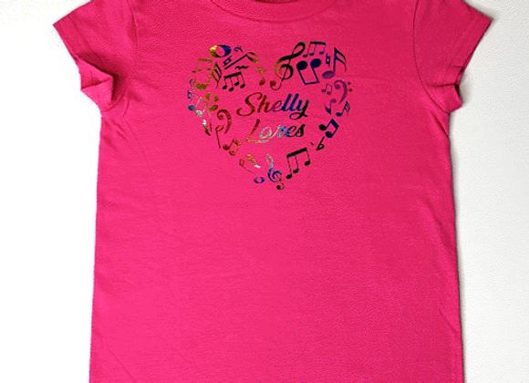 Youth Shelly Heart T-Shirt