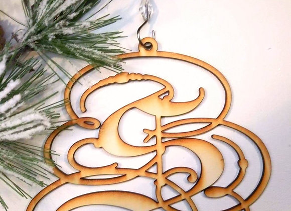 Shelly Logo Wooden Ornament