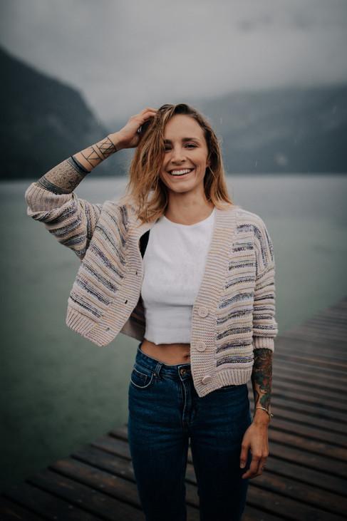 Portraitfoto bei Regen  Location: Altausseer See