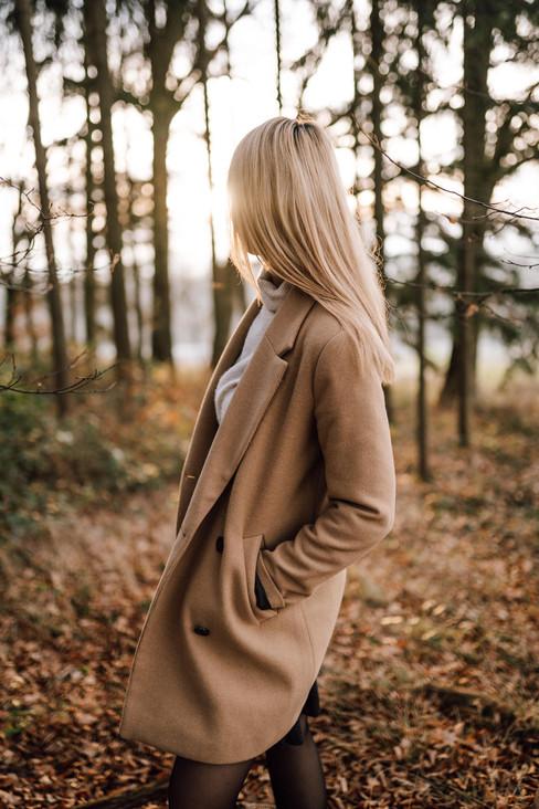 Portraitfoto im Winter Location: Aistersheim