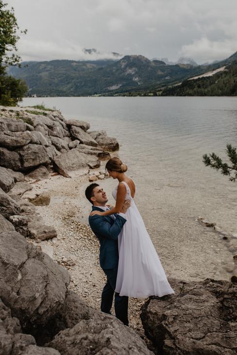 See-Hochzeit am Grundlsee