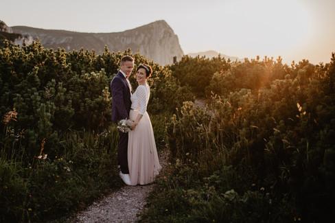 Berg-Hochzeit am Feuerkogel
