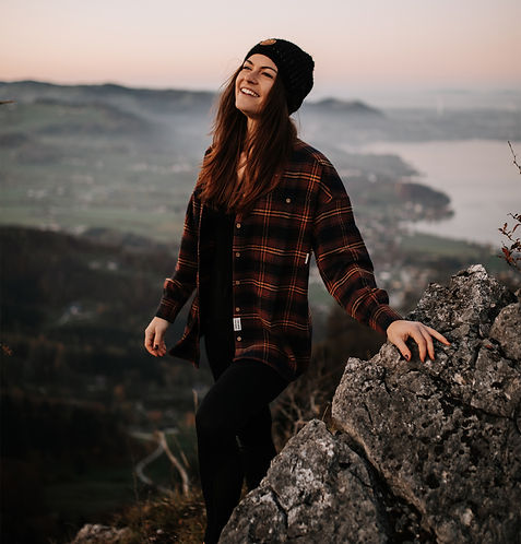 Portraitshooting am Berg