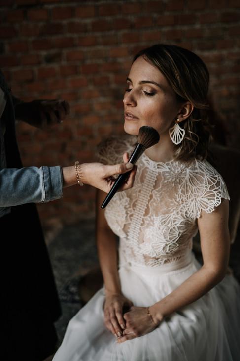 Getting Ready Boho Hochzeit