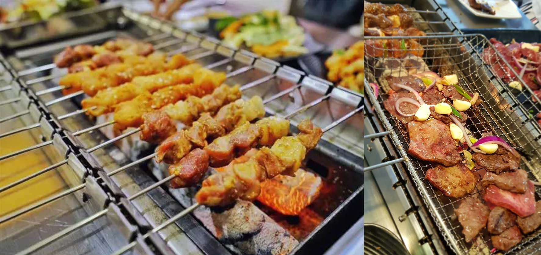 烤串-网站大横幅图片