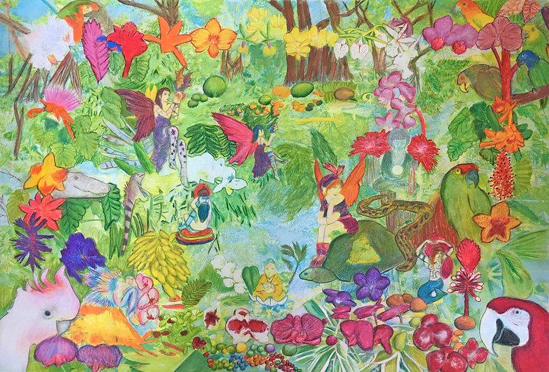Parrots Garden Fantasy.jpg