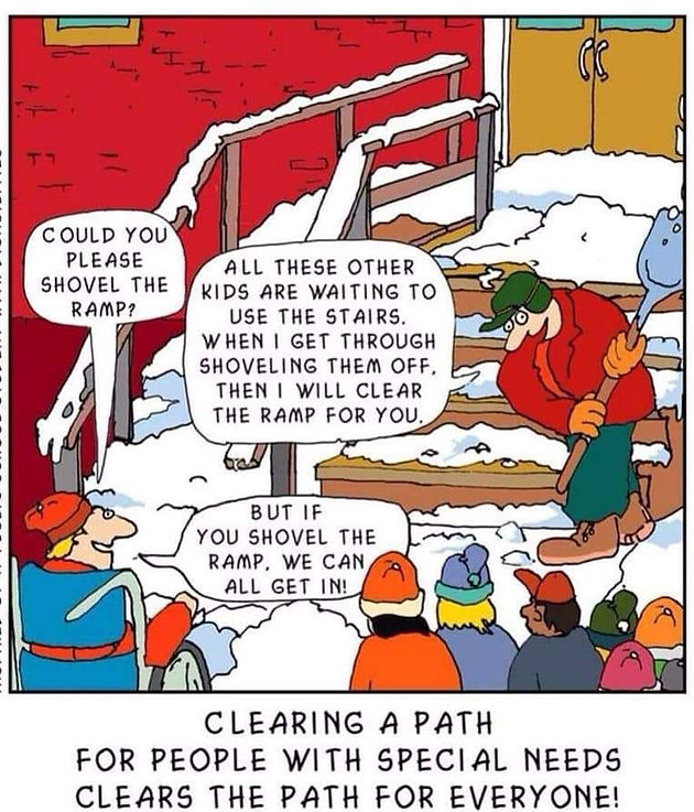 Asking Special Needs Kids To Clear Same >> Clearing A Path For People With Special Needs Clears A Path For