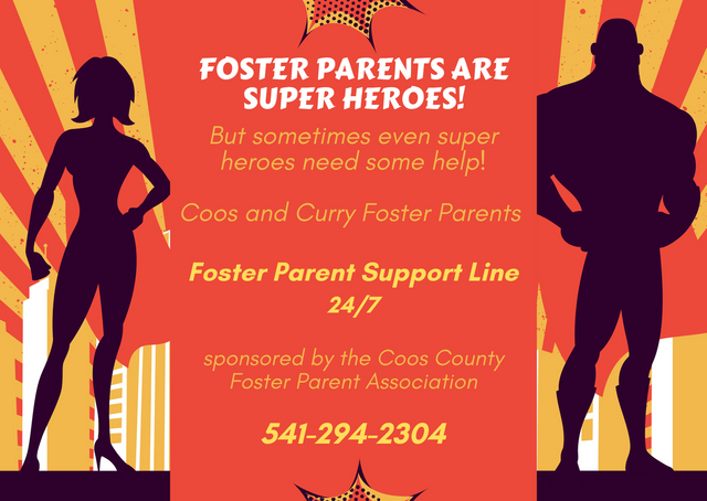 Foster Parent Support Line