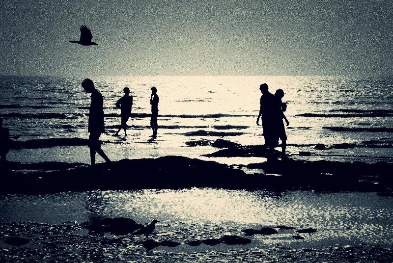 JUHU BEACH, MUMBAI INDIA