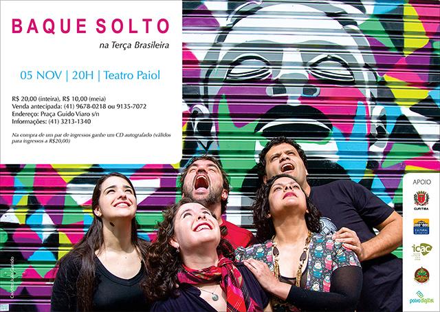 Baque Solto - Teatro Paiol