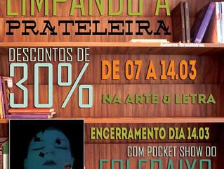 Pocket Show na Arte & Letra - mar./2015