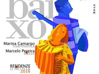 Residência Artística e Show na Itália