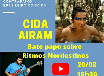 Ritmos Nordestinos - Bate papo com a cantora Cida Airam
