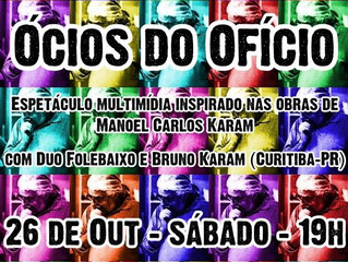 Ócios do Ofício em Ponta Grossa - out./2013
