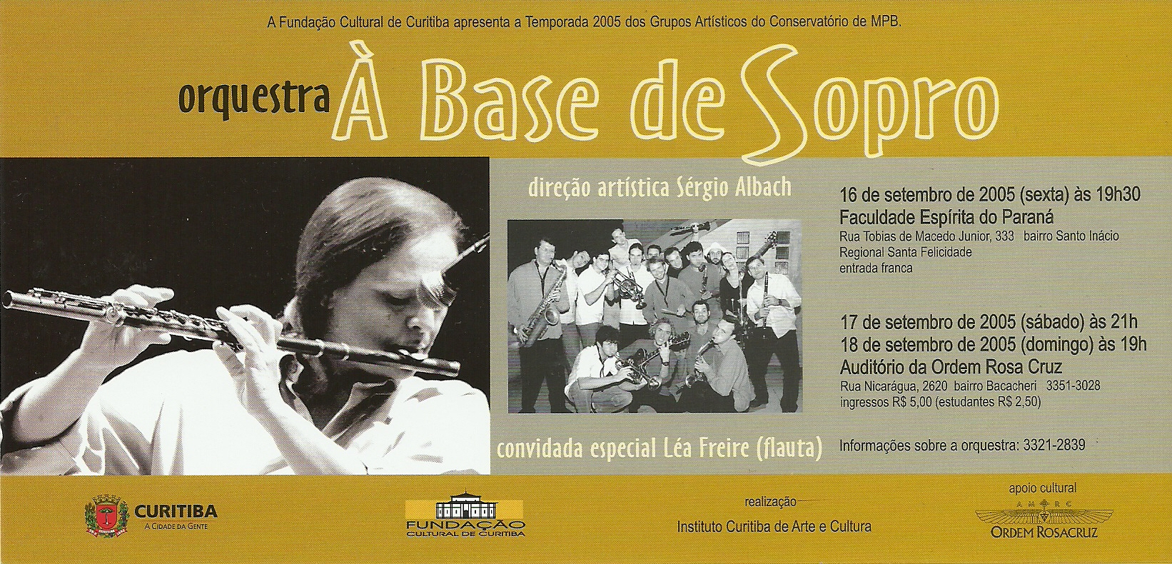 OABS e Léa Freire